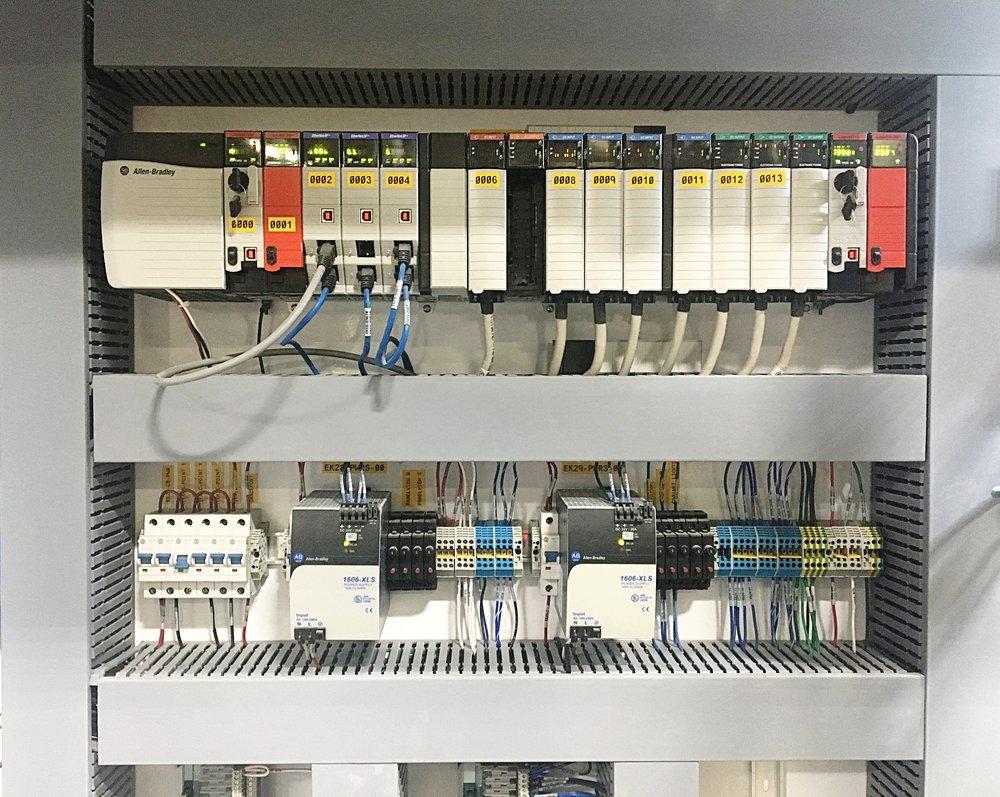 ControlLogix PLC Rack