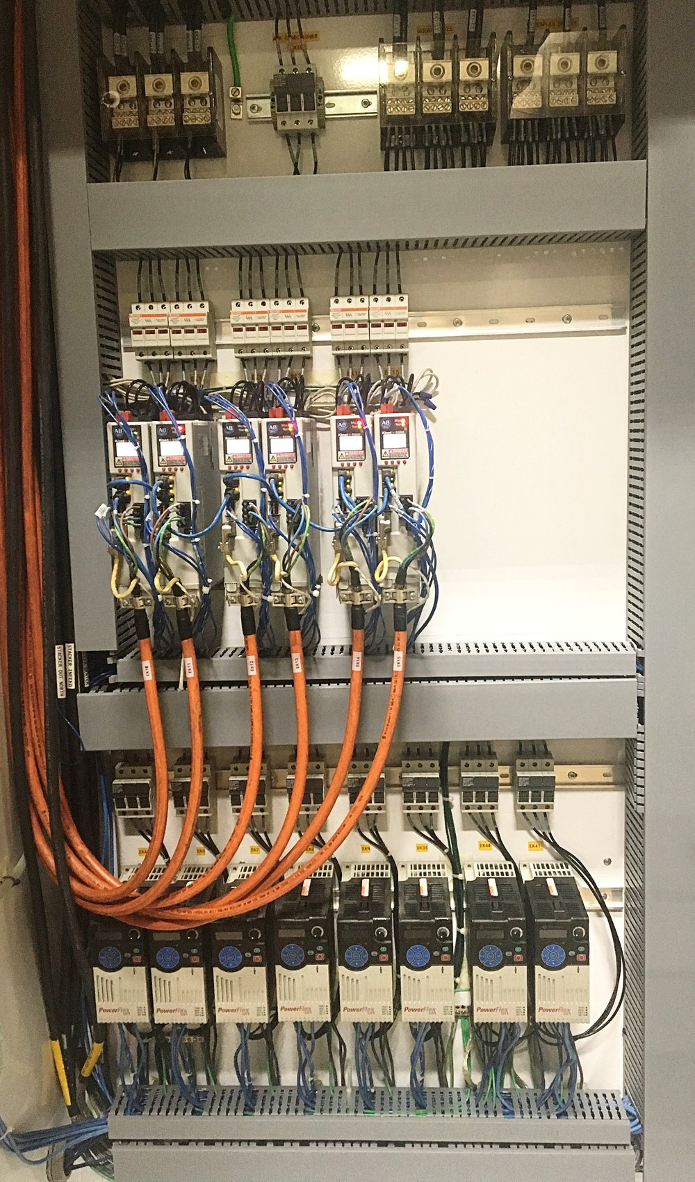 Kinetix Servos and Powerflex 525 VFD's