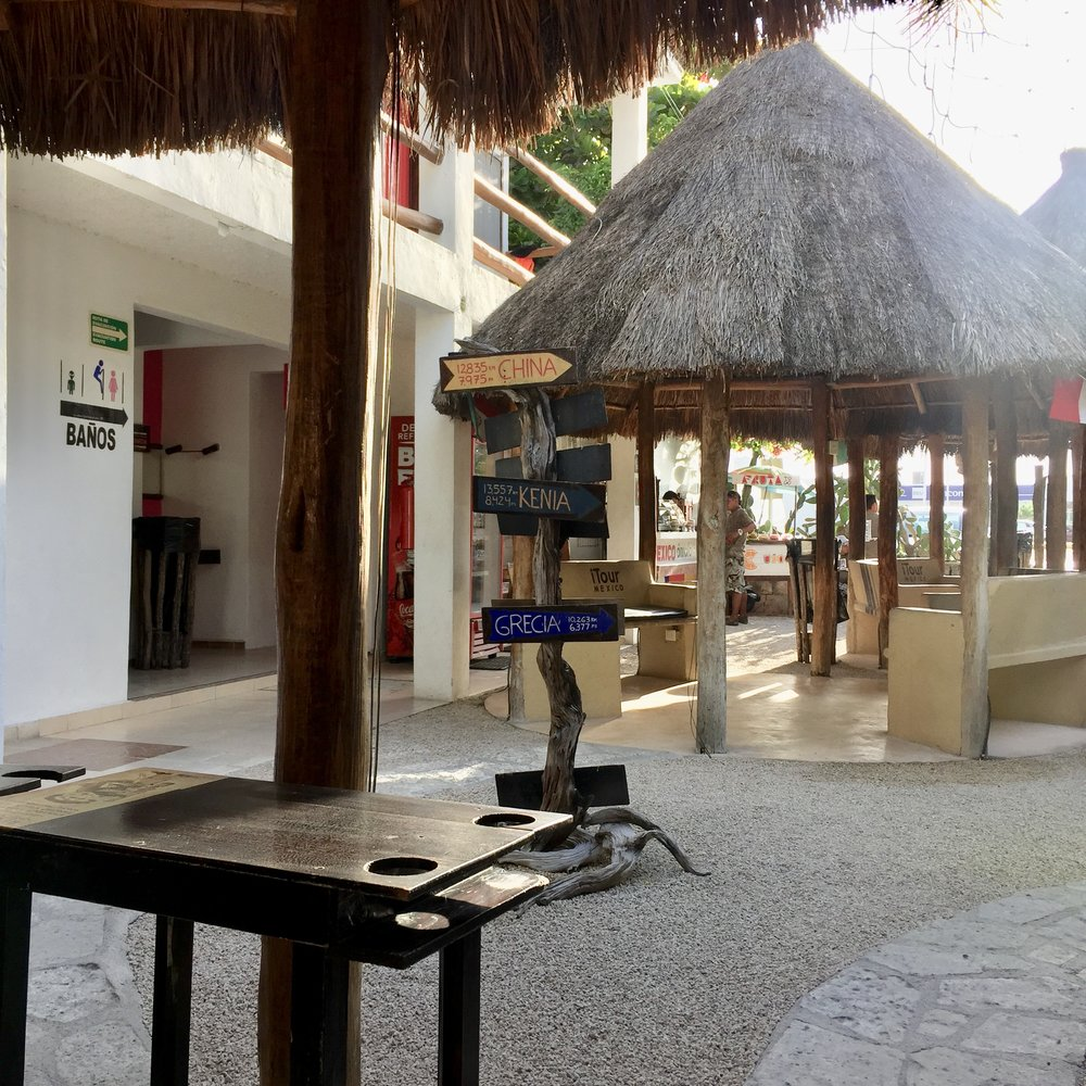 Common area at iTour Tulum