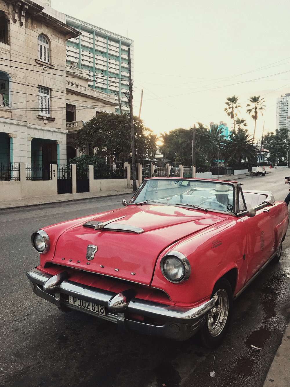 A ride in a vintage car is a must in Havana