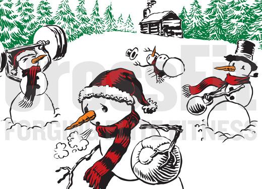 CrossFit Snowmen