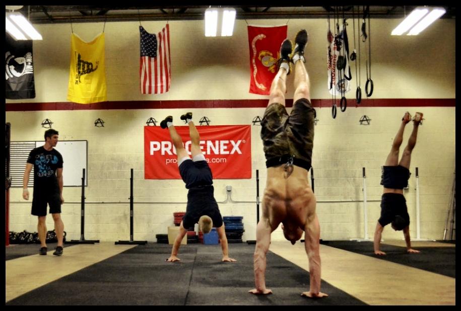 Handstand Practice!