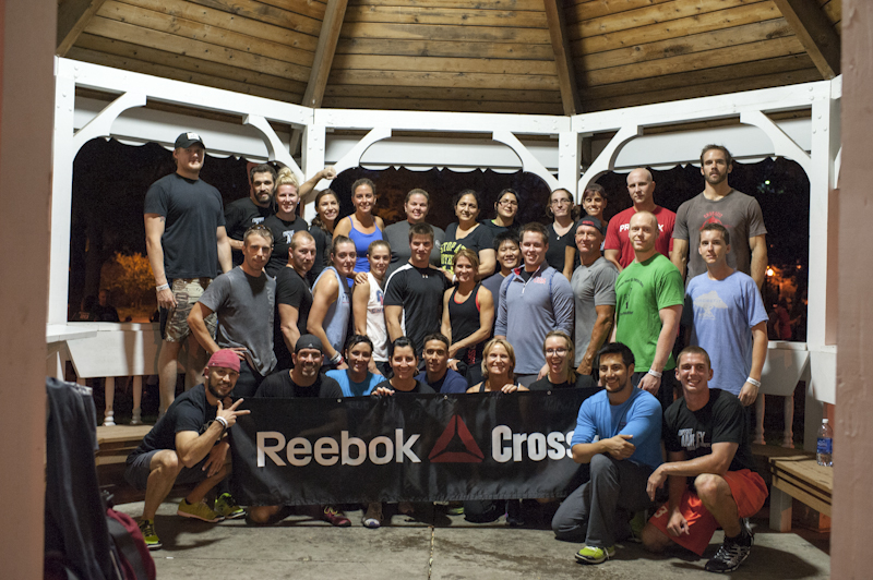 CROSSFIT AMPLIFY Reebok Outdoor WOD