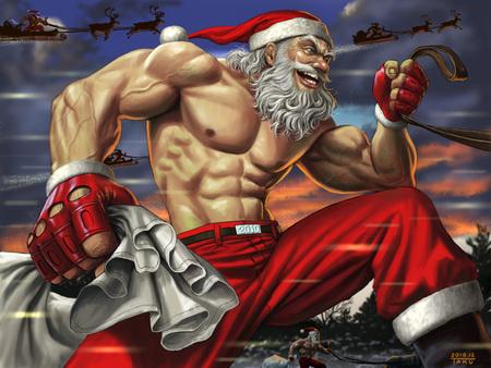 Strong Santa