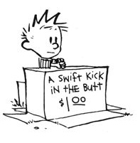 Calvin knows