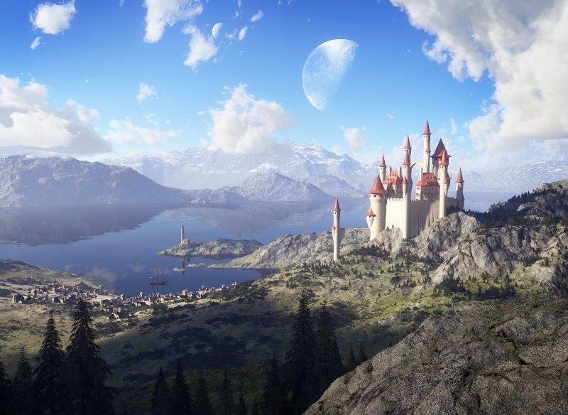 wallpaper-Fairy-Tale-Lake