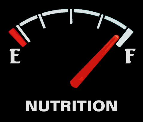 NUTRITION fuel gauge