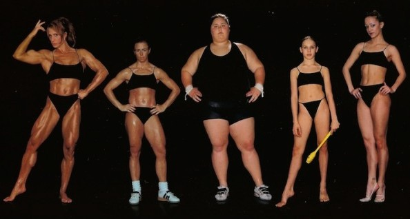 body types real image women