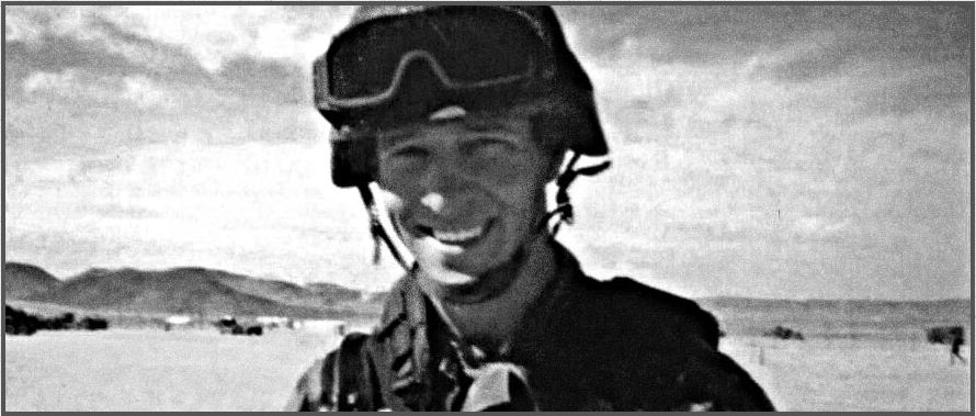 In Honor of Specialist Trevor Win'e. Lost on May 1, 2004.