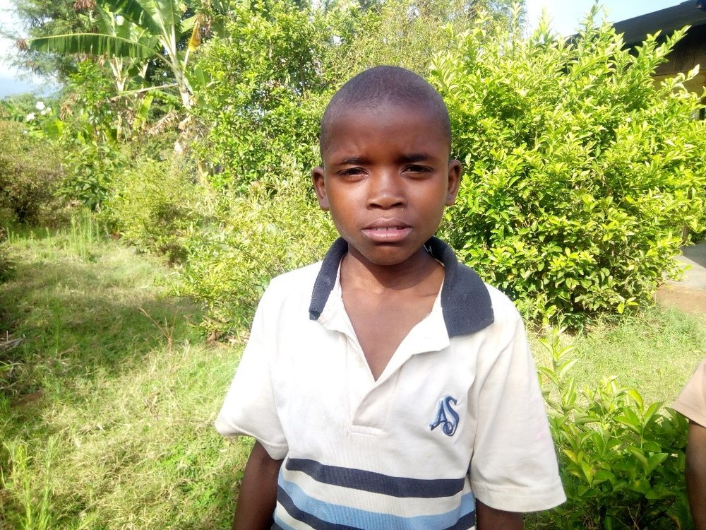 Beno - Jambo! Jambo! My name is Beno, I am 10 years old. I like eating chips. I enjoy playing puzzles. What makes me happy is doing Yoga. I don't enjoy when I lose my exercise books at school. When I grow up I would like to become a farmer.