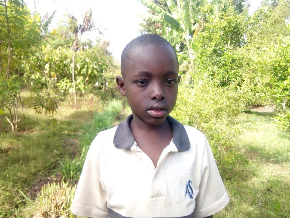 Evod - Jambo! Jambo! My name is Evod, I am 8 years old. I like eating Rice with beans. I enjoy playing with car toys and puzzles. What makes me happy is eating food. I don't enjoy when I miss games. When I grow up I would like to become a driver.