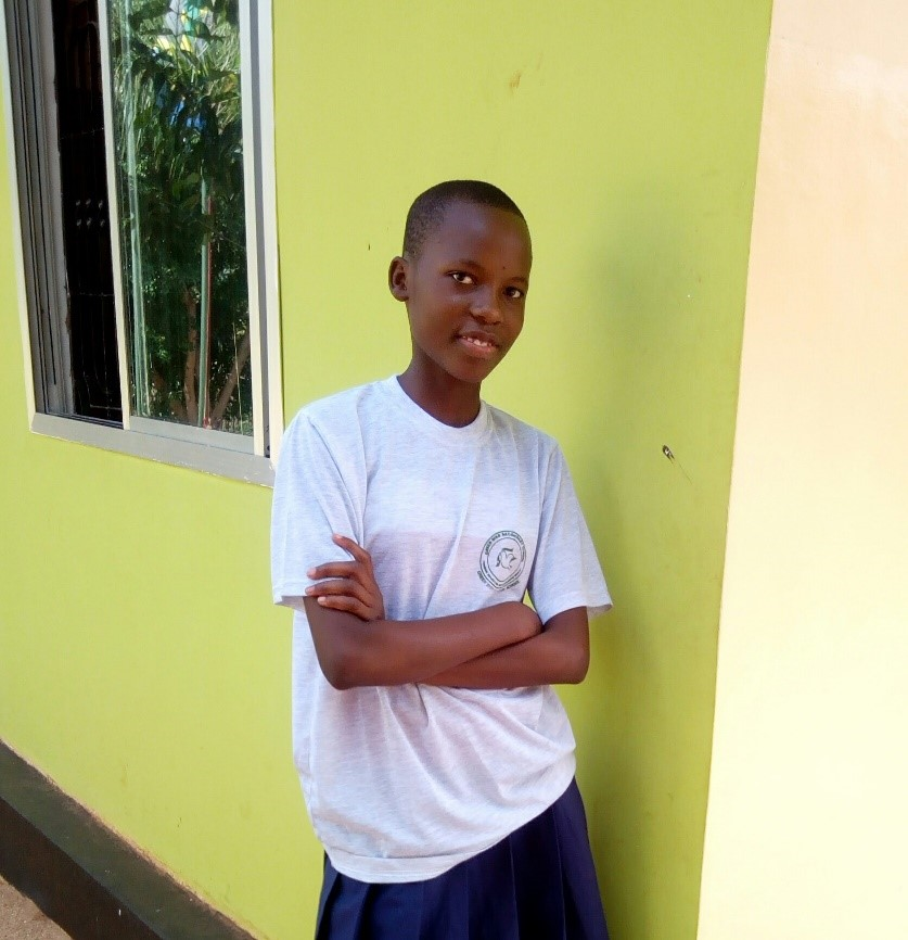 Jackline Charles - Jambo! Jambo! My name is Jackline Charles, I am 15 years old. I like eating friend rice. I enjoy reading novels and studying. What makes me happy is making stories with my friends. I don't enjoy missing classes. When I grow up I would like to become a Doctor.
