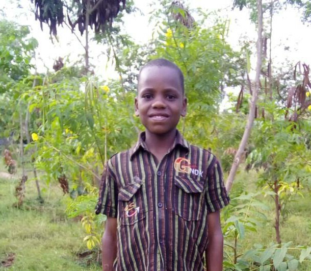 Fred Kweka - Jambo! Jambo! My name is Fred Kweka, I am 12 years old. I like eating friend rice. I enjoy playing football. What makes me happy is feeding rabbits. I don't enjoy being sick. When I grow up I would like to become an Engineer.