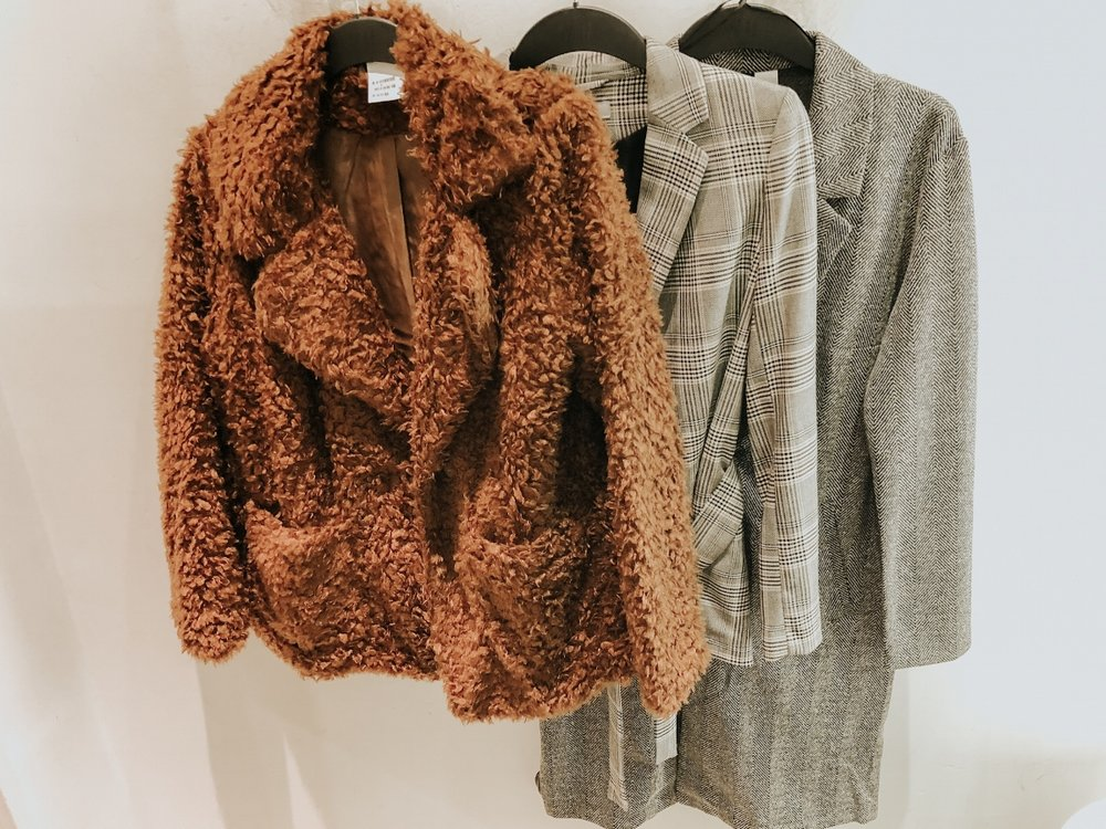 H&M Fall coats