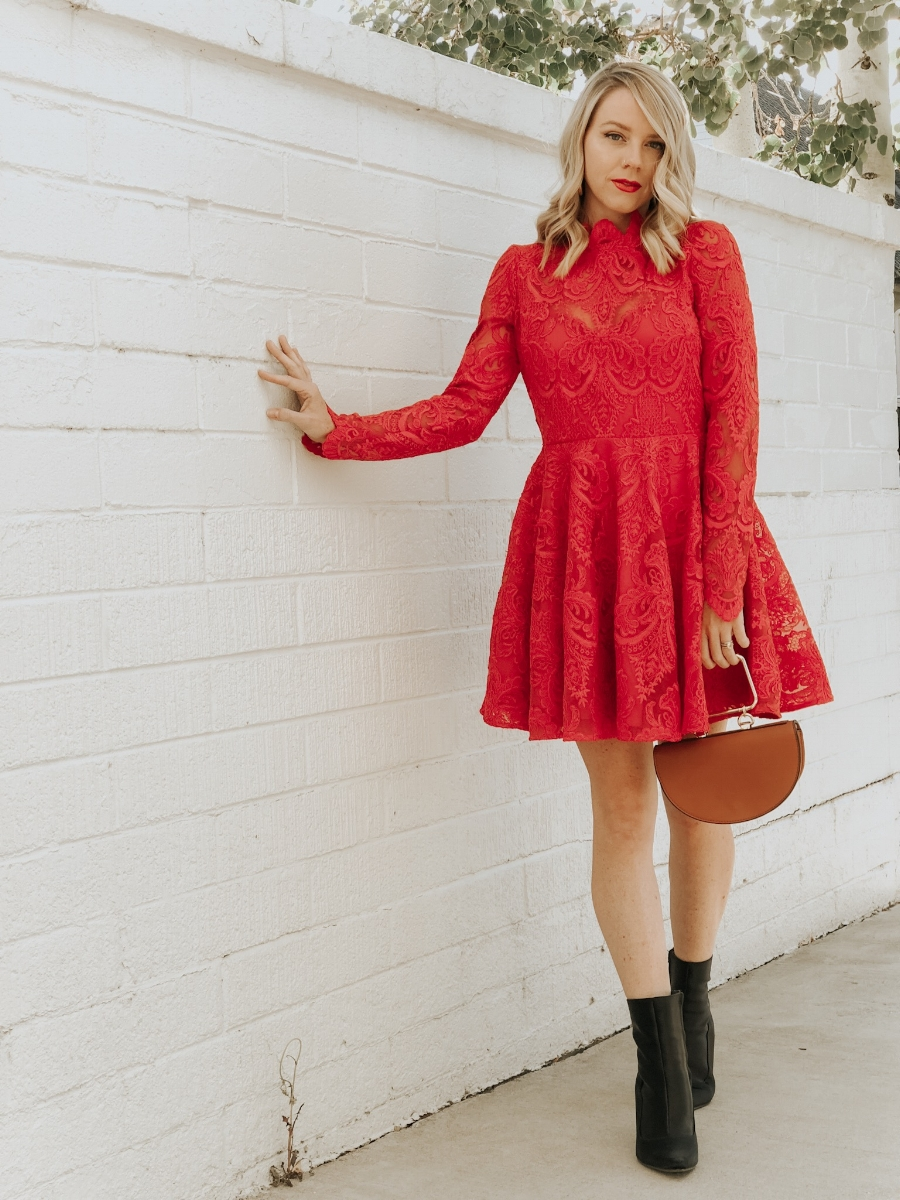Saylor Lace dress