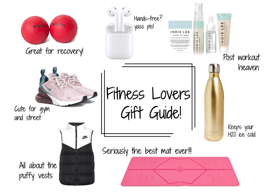Fitness lovers gift guide