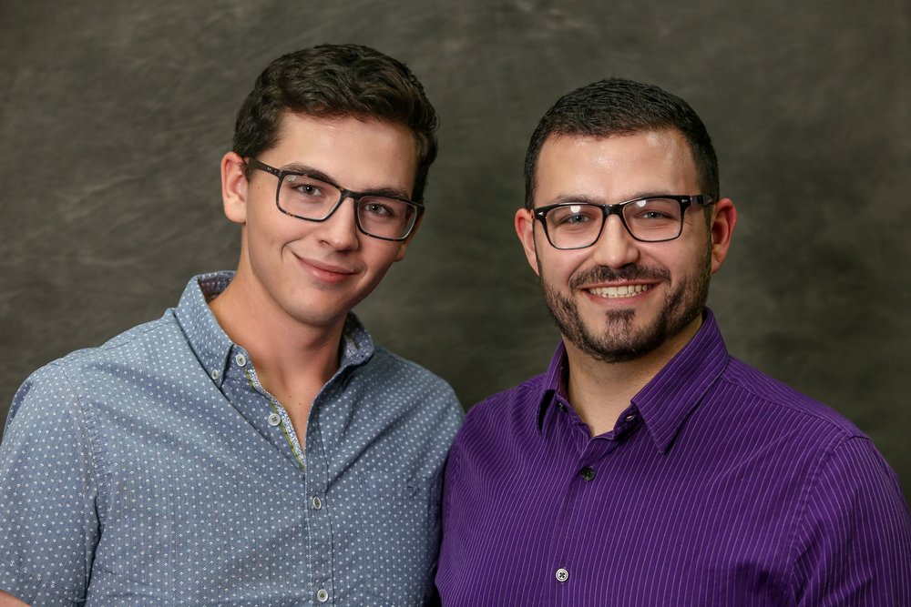 Andy and Joe Scarbrough founded Not Your Normal Entertainment in the fall of 2017.  Joe earned his Bachelor's degree in vocal performance and his Master's degree in Conducting, both from the University of South Florida. He has performed with Kenny Rogers, the Florida Orchestra, Master Chorale of Tampa Bay, Cleveland Symphony, and the University of South Florida choral ensembles. He is also the Artistic Director of Soaring Sounds Tampa. Under his direction, Soaring Sounds has performed with Rocktopia!, a Broadway touring show; at Disney weddings; and in the Candlelight Processional three years in a row. Currently, Joe teaches voice and piano lessons and is the choir director at Skycrest United Methodist Church in Clearwater.  Andy earned his Bachelor's in Biology at the University of South Florida. Upon graduation, Andy worked as a State Park Ranger focusing on habitat restoration at Terra Ceia Nature Preserve. He has a passion for preservation and conservation and enjoys assisting with prescribed burns, habitat restoration, and botany. Aside from work, Andy enjoys attending shows at the Straz Center and local community theaters. He worked as the sound designer on Seussical the Musical with Valrico Village Players, and is excited to begin Not Your Normal Entertainment with his husband!