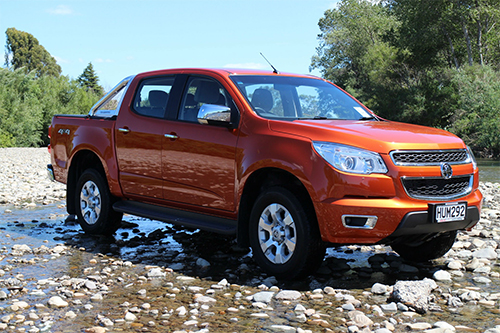 Holden Colorado Ltz 2015 Tough Sell Appeals More Motoringnz