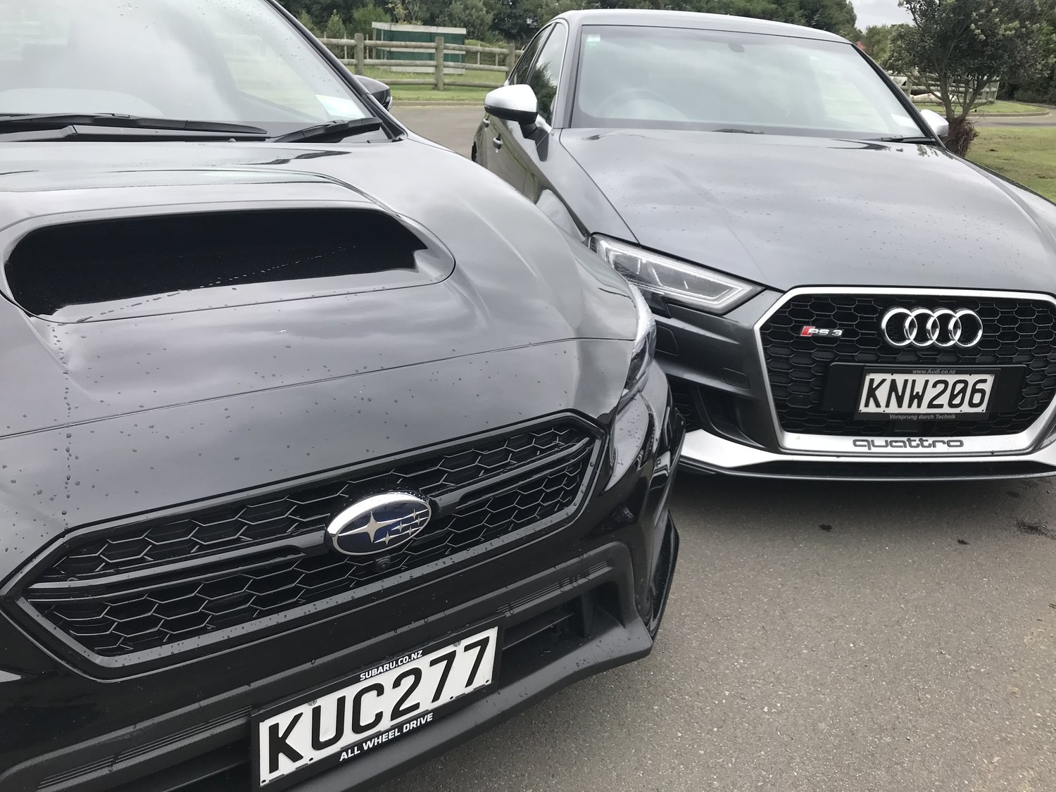 Audi RS3 and Subaru WRX: All to the four — Motoringnz