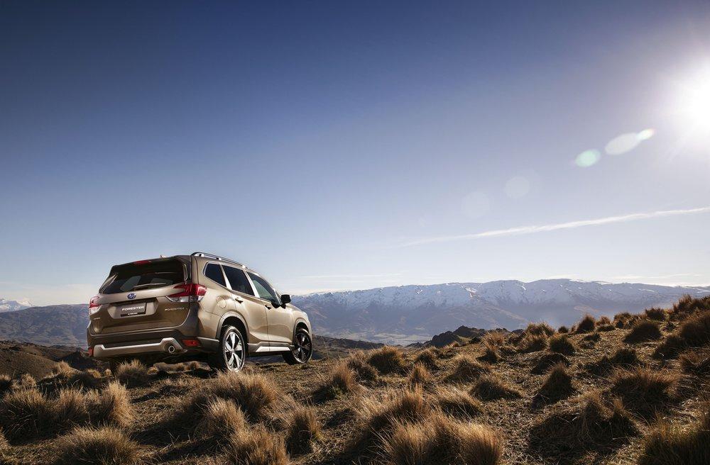 Subaru Forester 2.5 Premium exterior LR 1.jpg