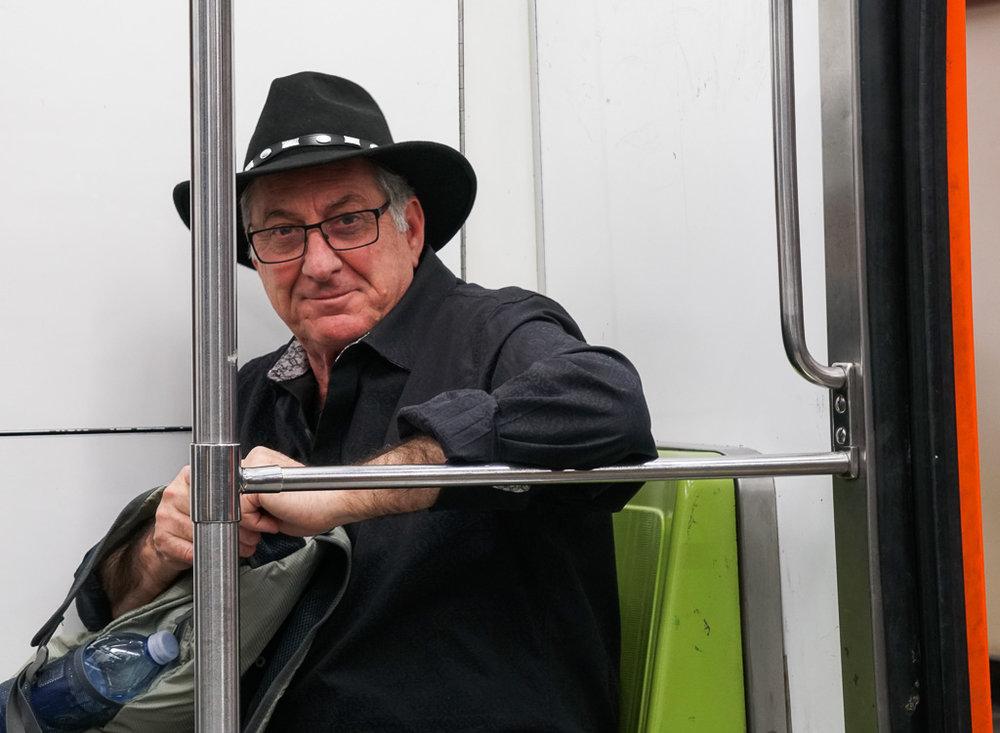 Paul on the Metro