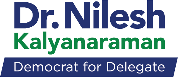 Dr. Nilesh Kalyanaraman - Democrat for Maryland House of Delegates