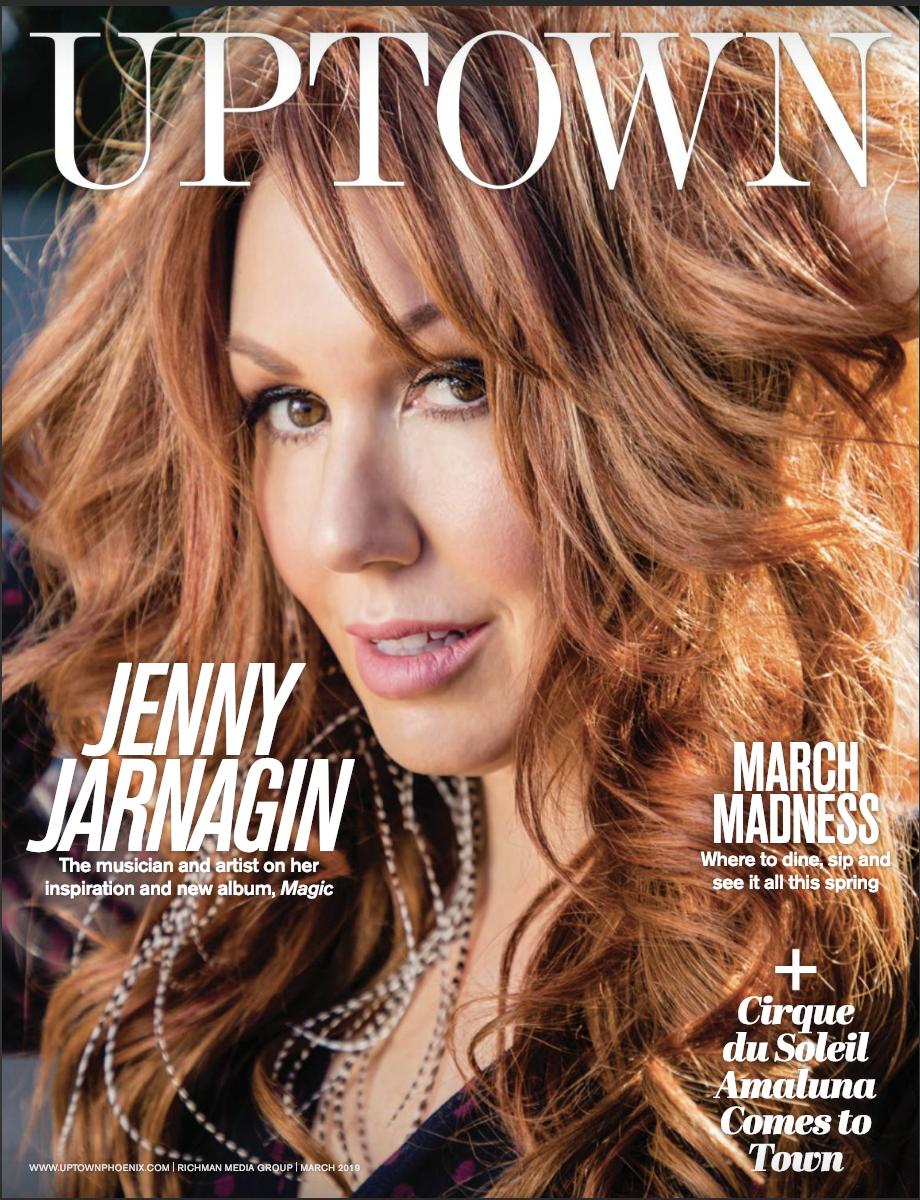 Jarnagin featured in full editorial spread - Uptown magazine - Read Full Magazine HereRead Digital Article Here