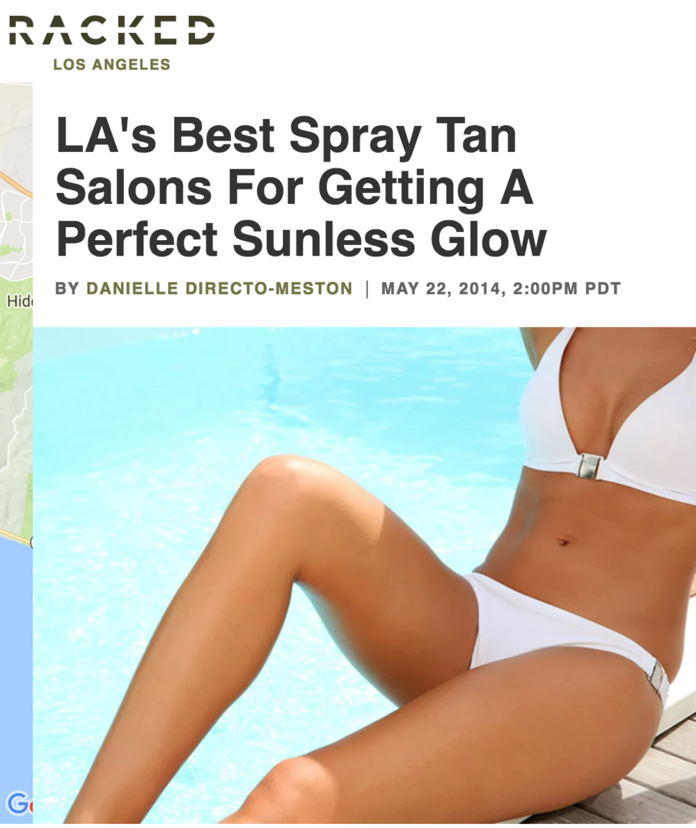 L.A. Sun Spray Tan Racked LA Perfect Sunless Glow