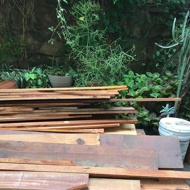 We would love to donate some old wood to someone, someone who would hopefully just come and take it all :) Any interest?