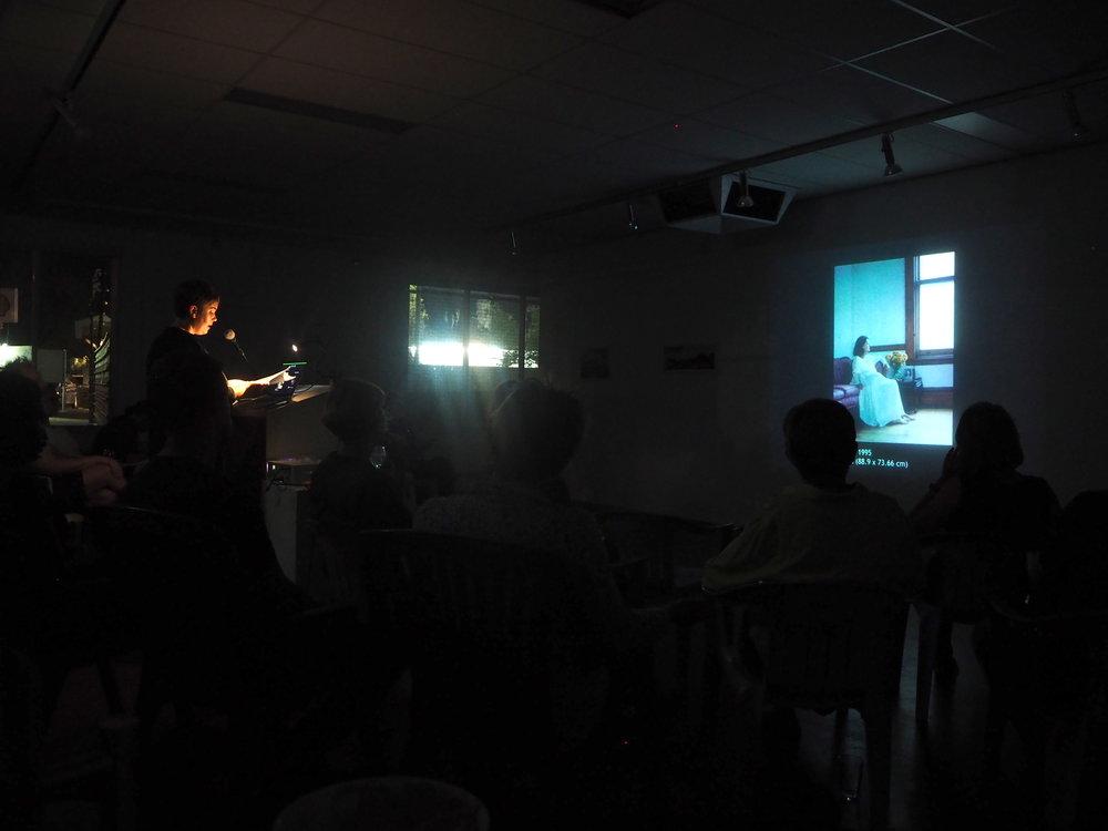 Jacquie Chlanda presenting