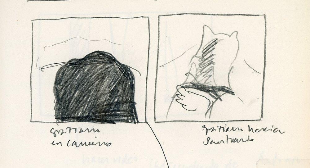 Sketch by Carolina Saquel