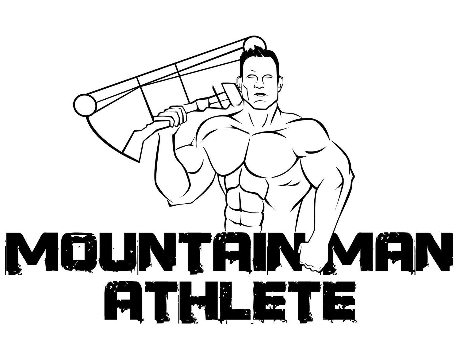 Mountain Man Athlete