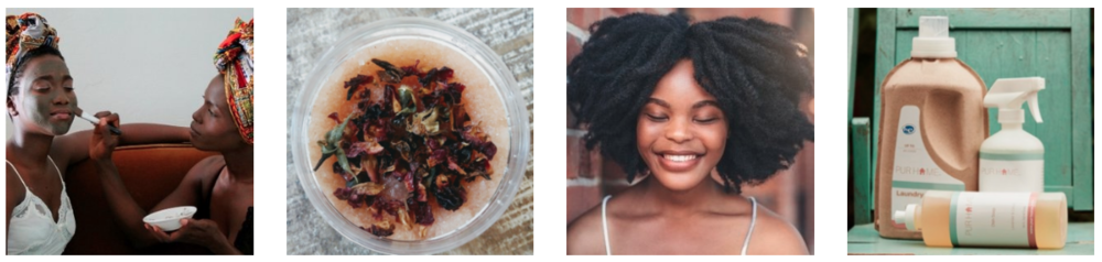 Black-owned products natural and green