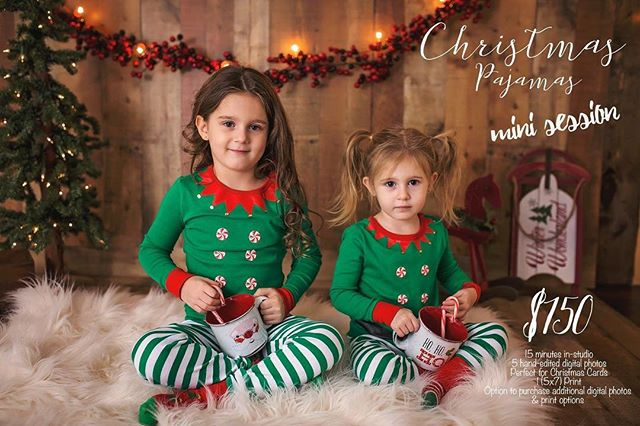 🎄**CHRISTMAS PAJAMAS MINI SESSIONS**🎄open! Perfect for Christmas cards 🎄 and includes a 5x7 professional lab print with option to purchase more digital and prints. Book your spot now, limited available. Saturday November 3 in-studio, Bartlett, IL.  Go here and grab yours today 👉https://stephanielovaephotography.bigcartel.com/ (in profile too👆) I am also hosting 🍁Fall mini sessions 🍁 Saturday, October 13, sign-up today!  #chicagolandphotographer #northwestsuburbs #fall #pajamas #christmaspajamas #christmaspajamasminisessions #minisessions #gorgeousphotos #familyphotos #christmascards #professionalphotography #familytime #christmas2018 #love #stephanielovaephotography #childphotographer #familyphotographer #momsofinstagram #momtogs #momsunite #momlife #parenting #parents #siblings #babies