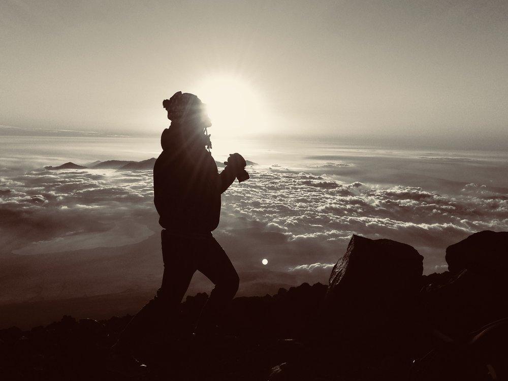 Goal: Sunrise from Mt. Fuji ~Motivation to trek all night!