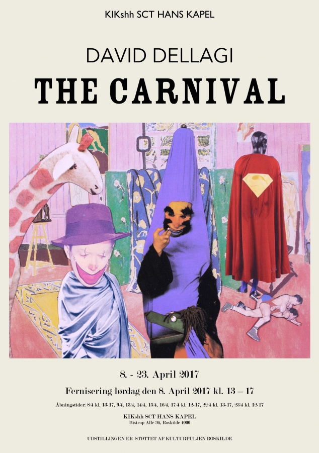The Carnival , 2017. Sct Hans Chapel, Roskilde, DK. Solo exhibition.