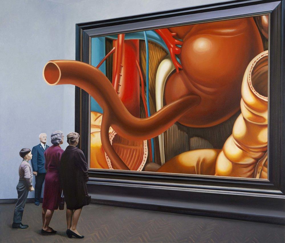 The Secret Museum , 2014. Oil on canvas, 170 x 200 cm.