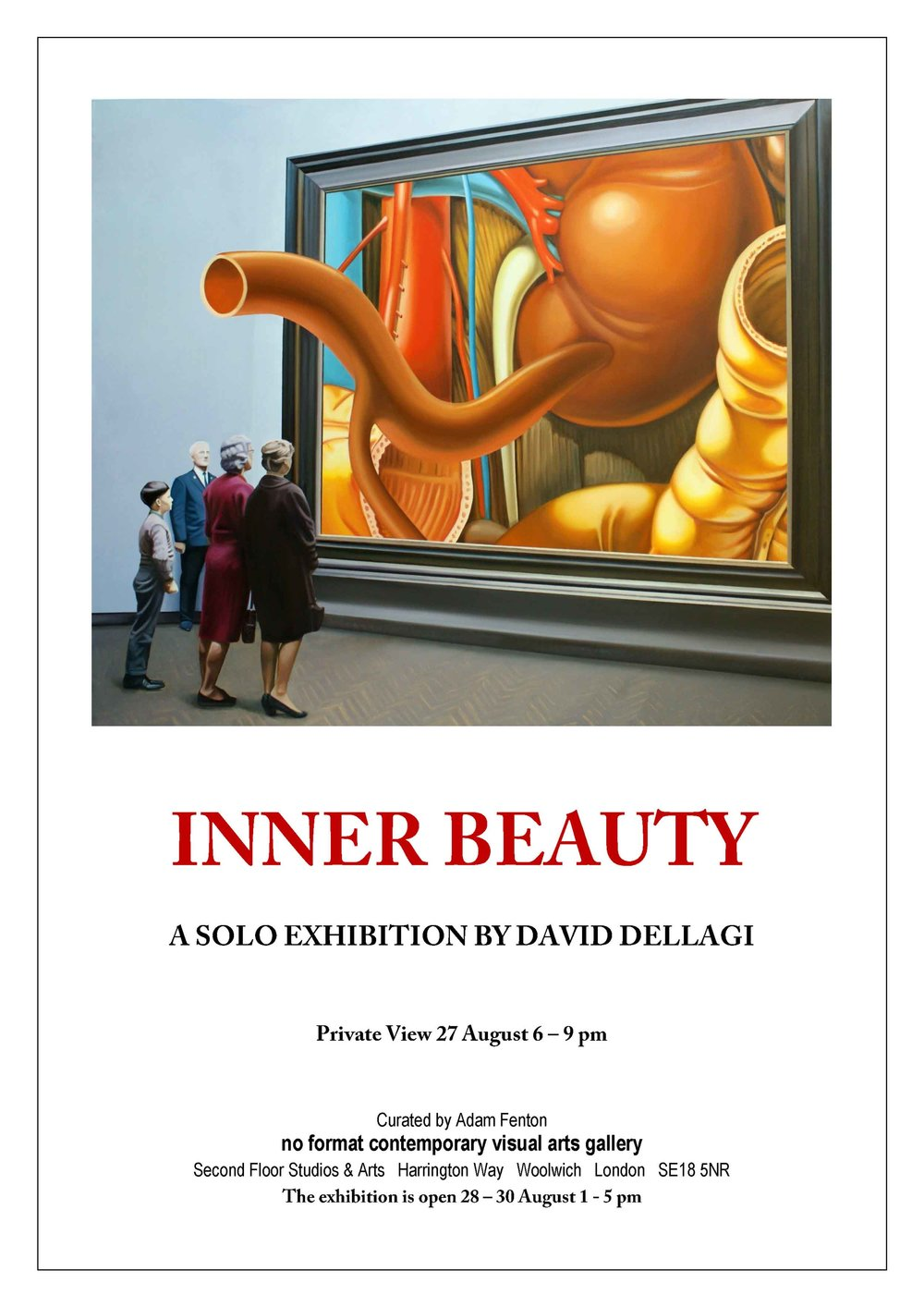 Inner Beauty , 2015. No Format Gallery, London, UK. Solo exhibition.