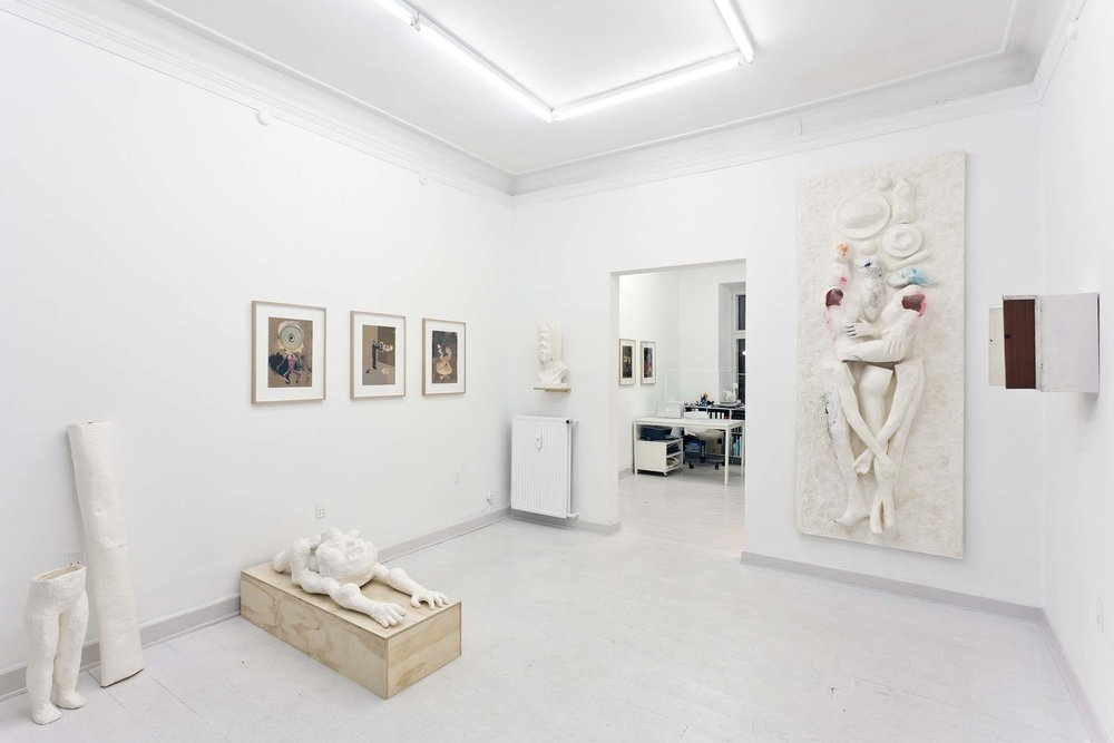 The Umbilical Eye , 2012.Marie Kirkegaard Gallery, Copenhagen, DK. Solo exhibition.