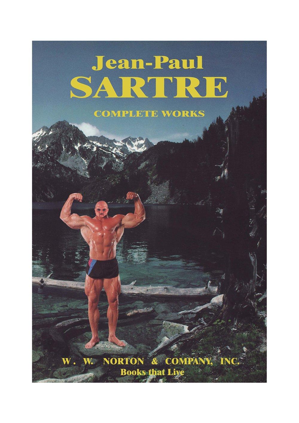 Sartre: Complete Works , 2009. C-print, 98 x 68 cm.