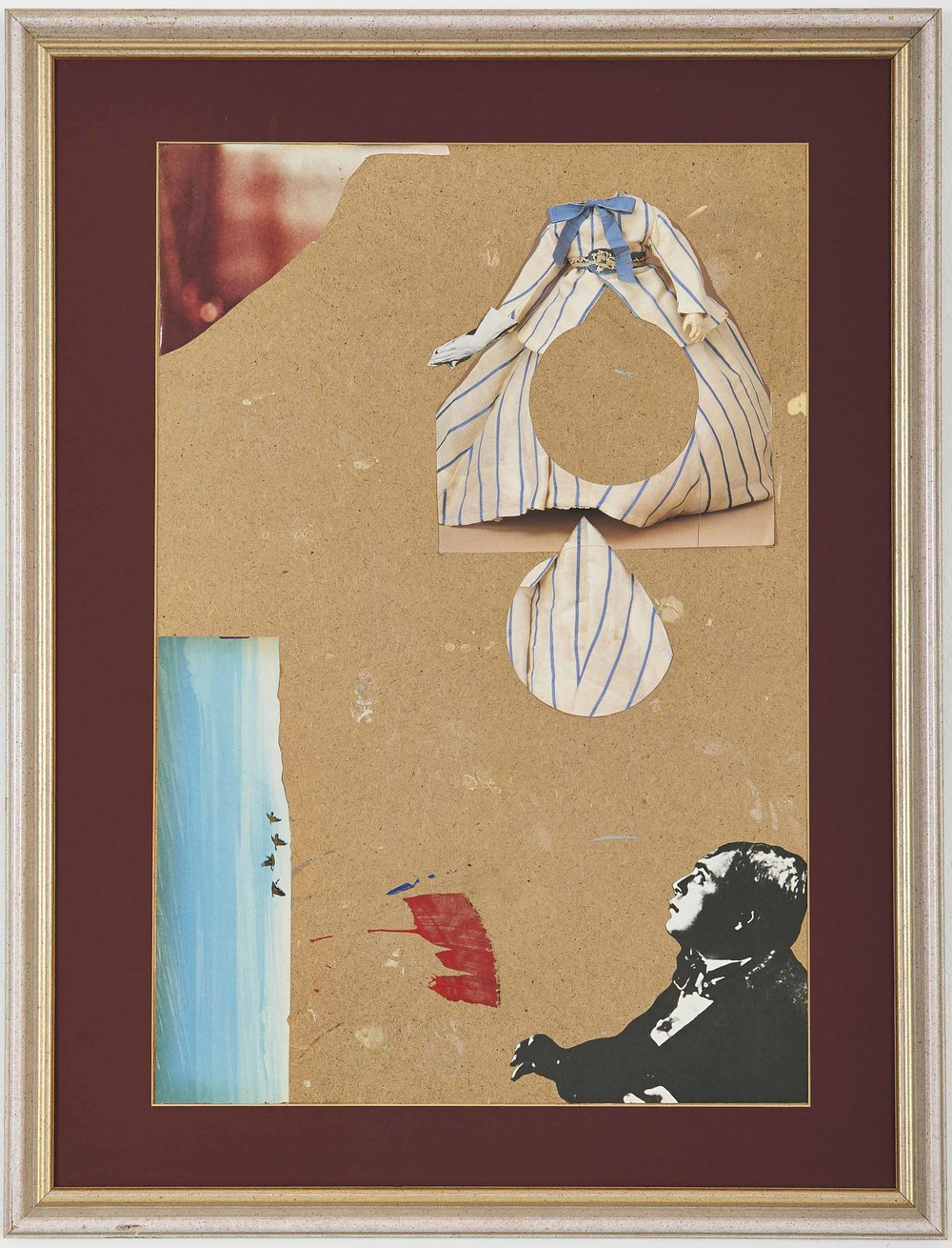 Untitled , 2014. Collage, 69,5 x 53 cm.