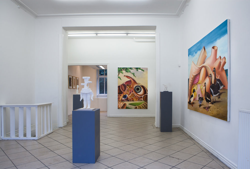 Handmade Anatomy , 2018. PVC, Copenhagen, DK. Solo exhibition.