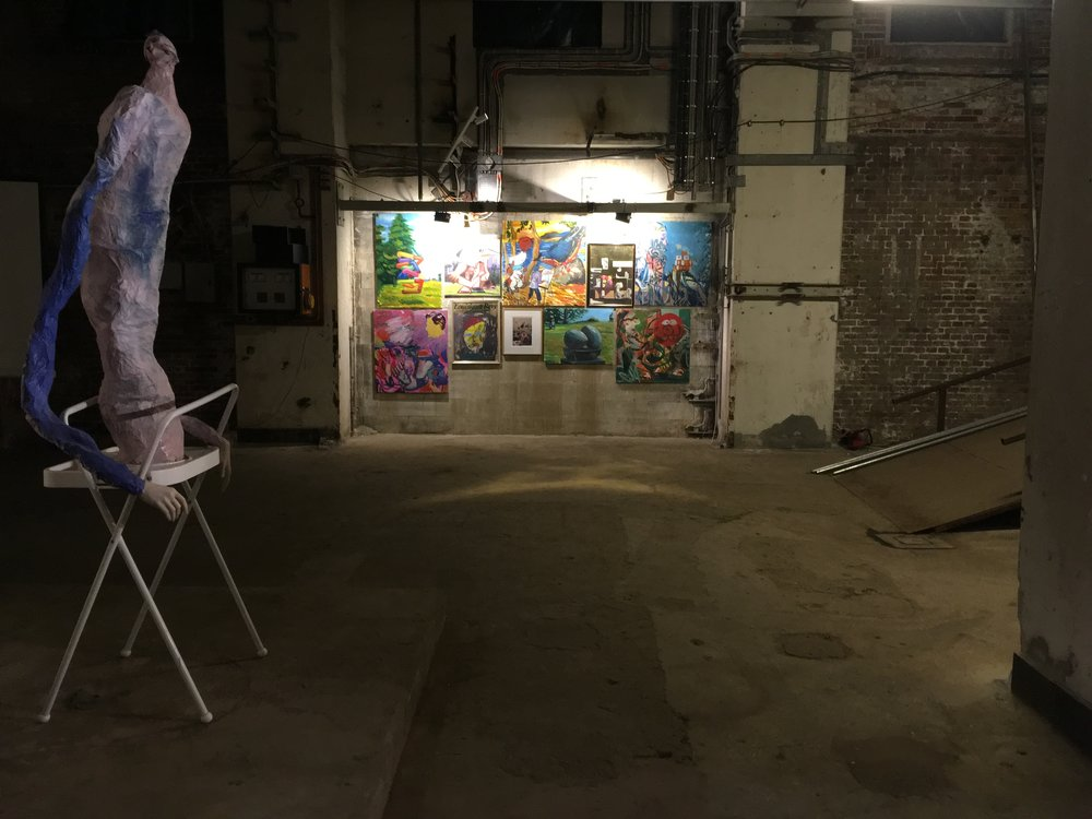 Closed on Mondays , 2018.   Installation view, CKG Centre for Contemporary Art, Copenhagen, DK. Solo exhibition.