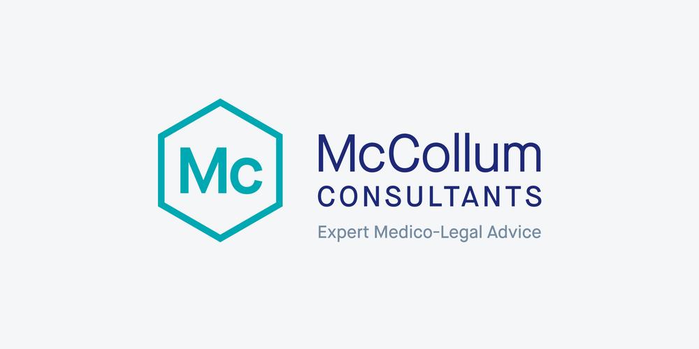 The new McCollum Consultants brand identity