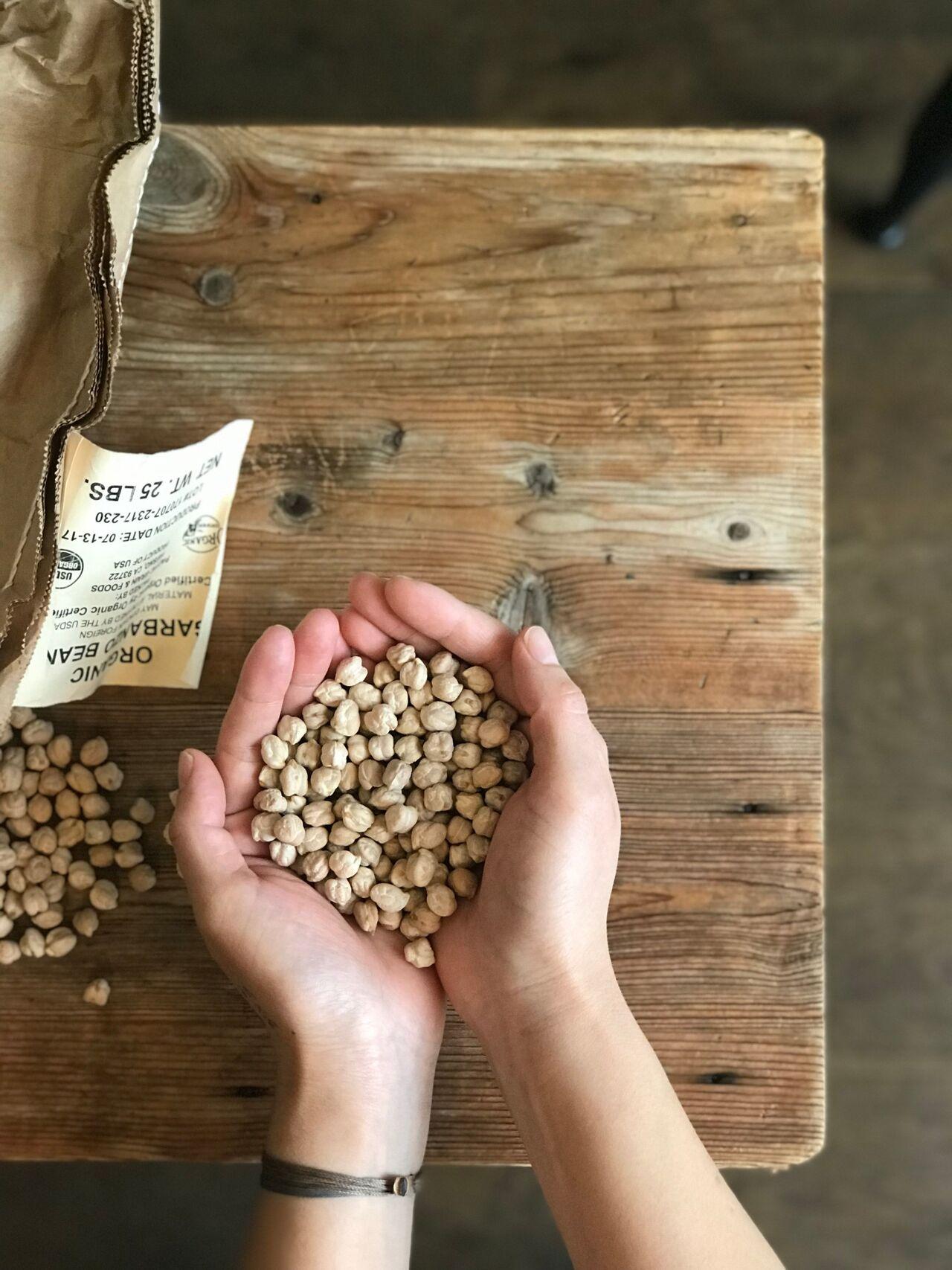 中東発祥のスパイシーなひよこ豆
