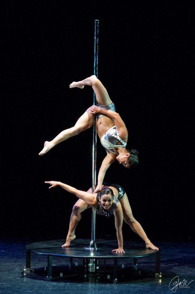 Pole Doubles at International Dance Day | Photo by Glyszah Marie Garcia C.