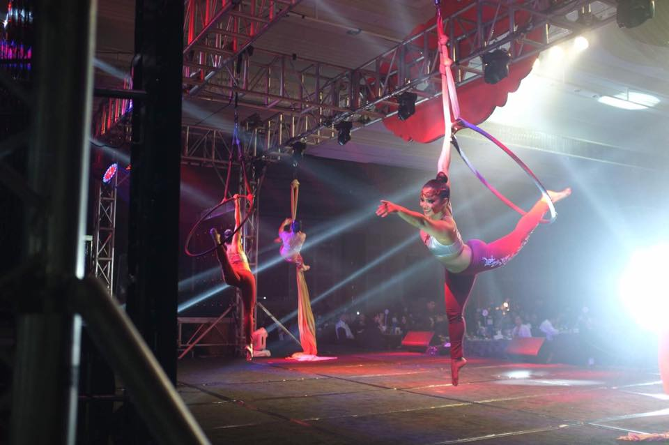 Aerial Hoop and Silks Performance
