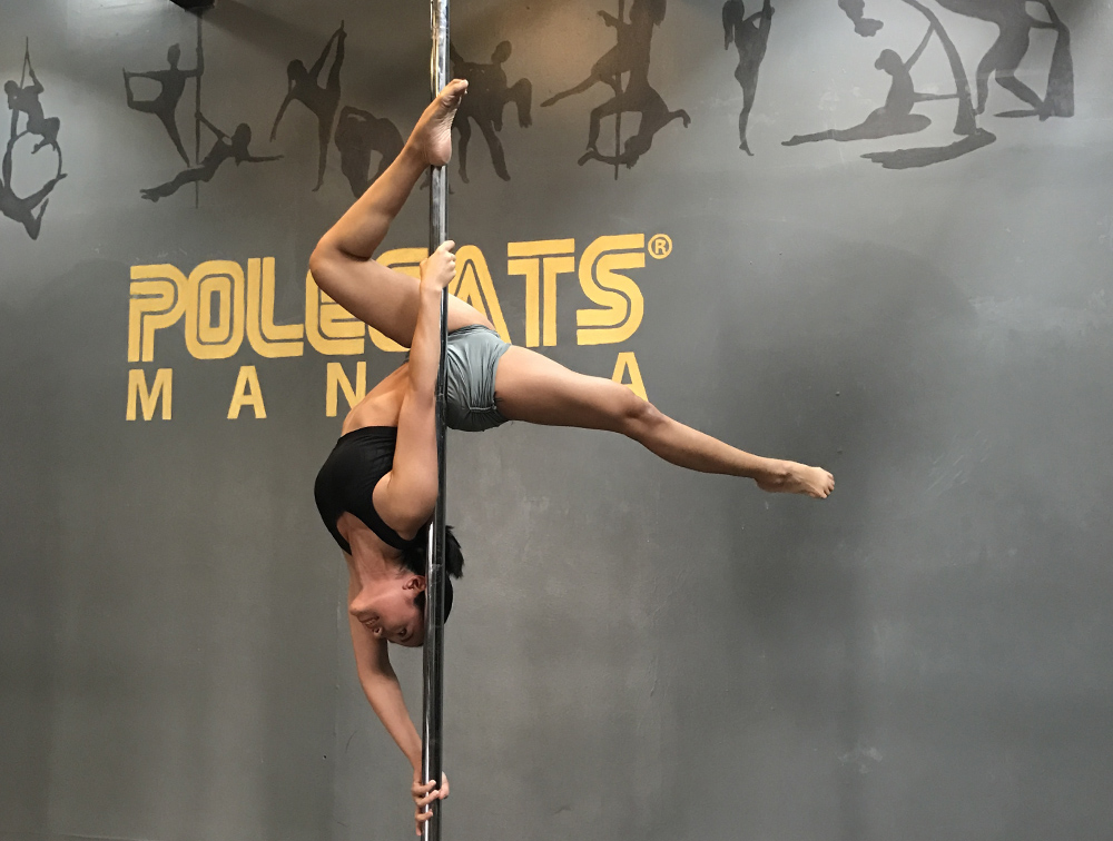 Pole Beginners 2 - You will continue to work on the foundations learned from Beginners 1, to lead to more inverts and combinations of tricks on the pole! New spins and climb variations will also be explored, as you feel more comfortable moving upside down and around the pole.