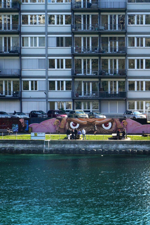 Pont de Sous-terre, Genève. 2018