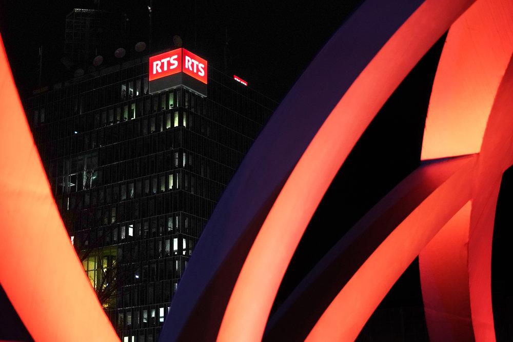RTS, Pont Hans Wilsdorf, Genève.2018
